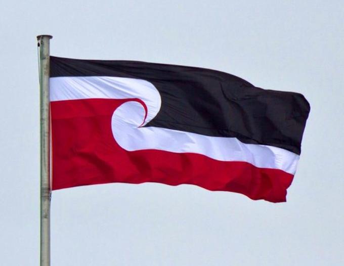 The tino rangatiratanga flag