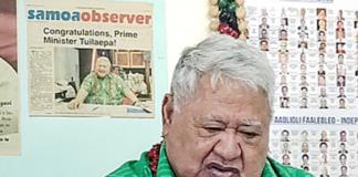 Tuilaepa Dr Sa'ilele Malielegaoi