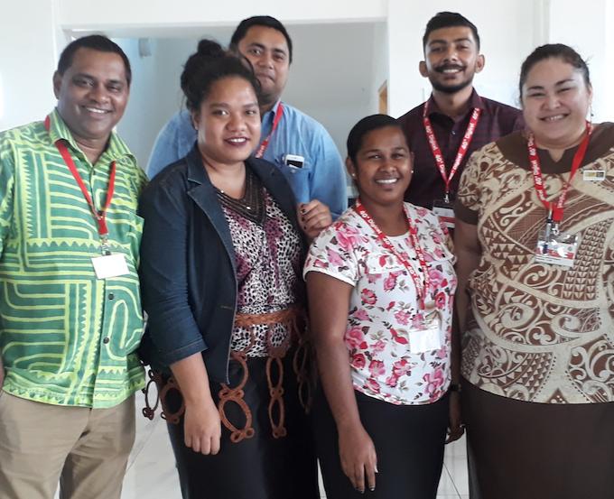 USP journalism alumni in Tonga