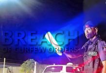 Fiji curfew breaches
