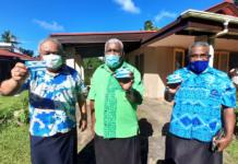 Fiji church leaders get jab