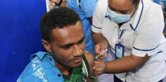 Fiji vaccination rollout 210621