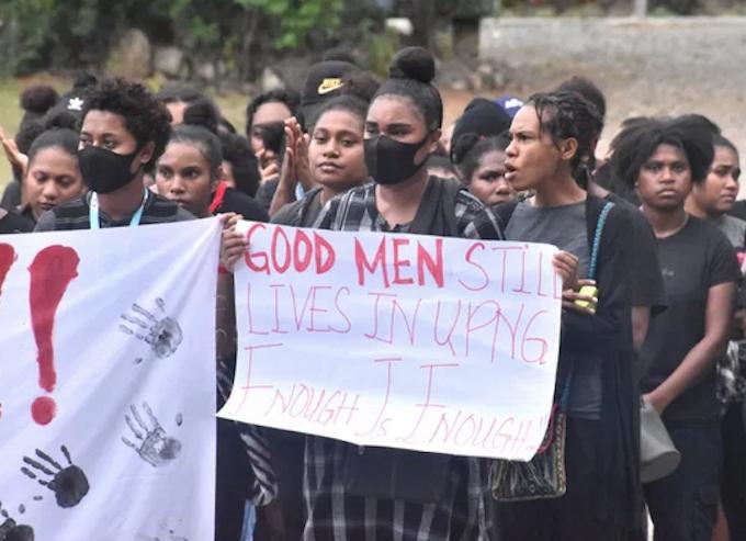 Some 'good men' students
