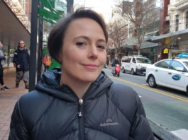 Greenpeace's Amanda Larsson