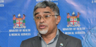 Fiji Health Secretary Dr James Fong 230621