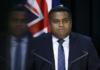 NZ Justice Minister Kris Faafoi 260621