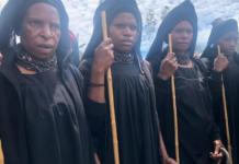 Highlands women attending a funeral 290621