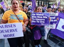 National nurses strike NZ 09 06 21