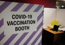A NZ covid vaccination booth 140621