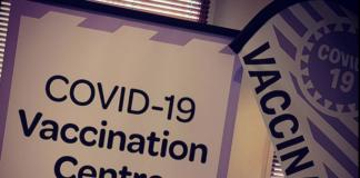 NZ covid vaccination centre at the Atrium, Auckland