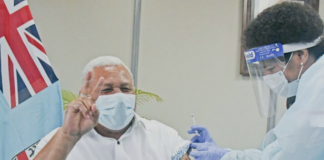 Fiji PM Voreqe Bainimarama 250621