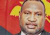 PNG Prime Minister James Marape 120621