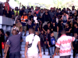 Protest against sexual harassment at UPNG