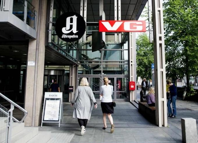 Norwegian media VG and Aftenposten