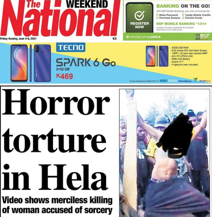 Horror torture in Hela