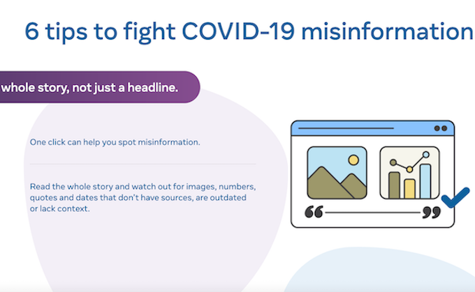 Get whole story on covid