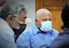 Fiji's Health Secretary Dr James Fong (left) and Prime Minister Voreqe Bainimarama