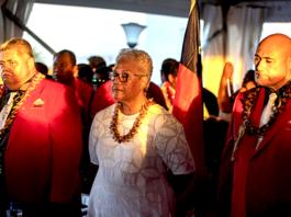 Fiame Naomi Mata'afa sworn in 24 April 2021
