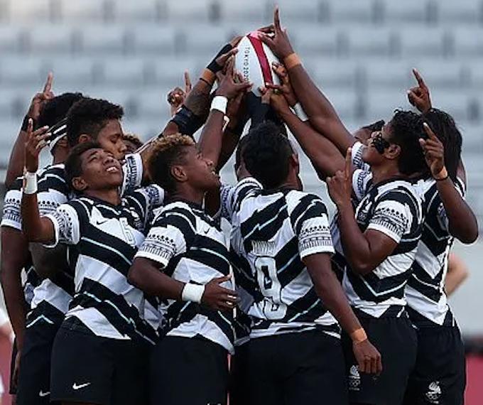 Fiji's Fijian sevens team