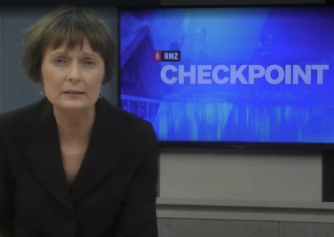 RNZ Checkpoint's Lisa Owen