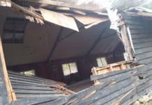 Bombed Mabugi village church