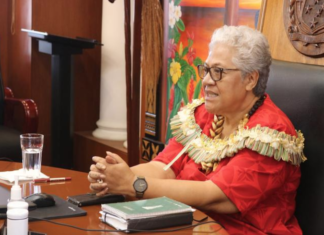 Samoan Prime Minister Fiamē Naomi Mata'afa