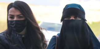 Suhayra Aden (right)