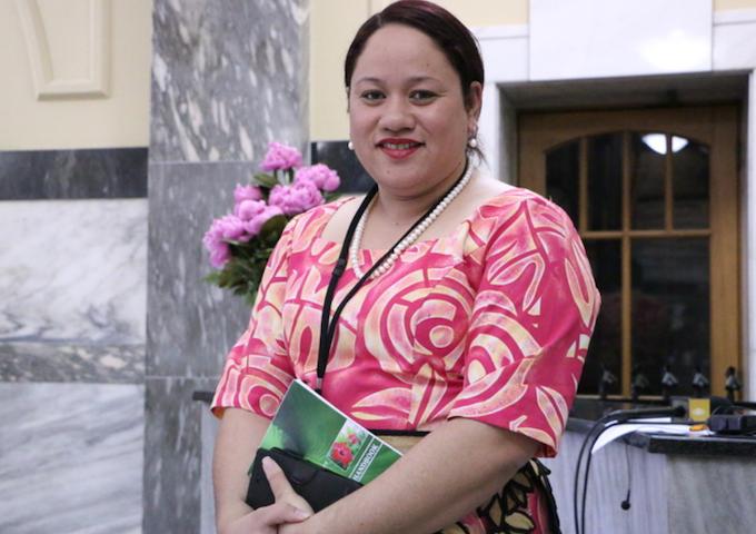 Tongan MP 'Akosita Lavulavu