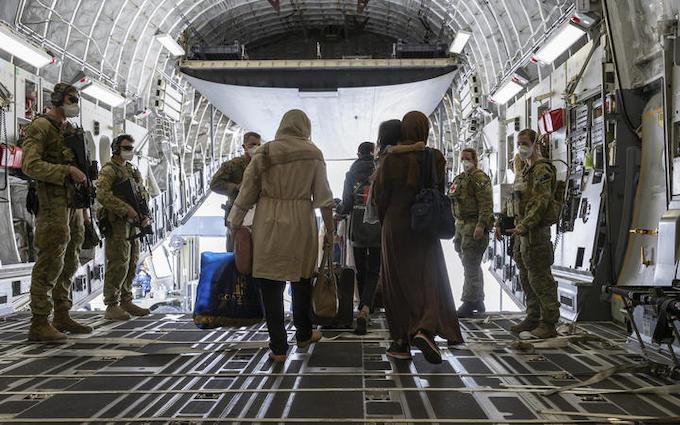 Evacuees from Afghanistan