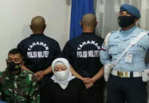 Accused Indonesian Air Force MPs