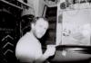 Davey Edward in RW workshop 1985