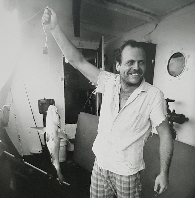 Davey Edward with fish