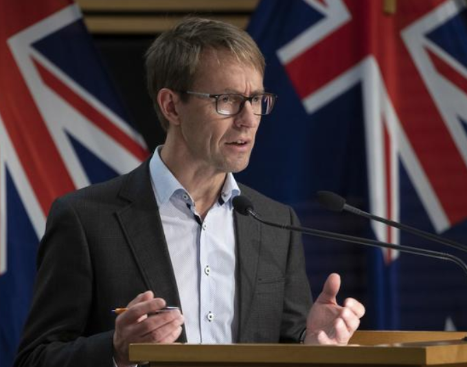 NZ's Director-General of Health Dr Ashley Bloomfield