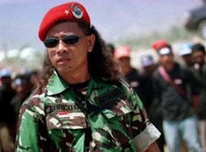 Timorese war criminal Eurico Guterres
