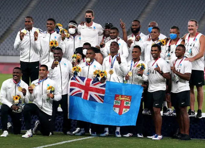Fiji Tokyo Olympic rugby sevens men