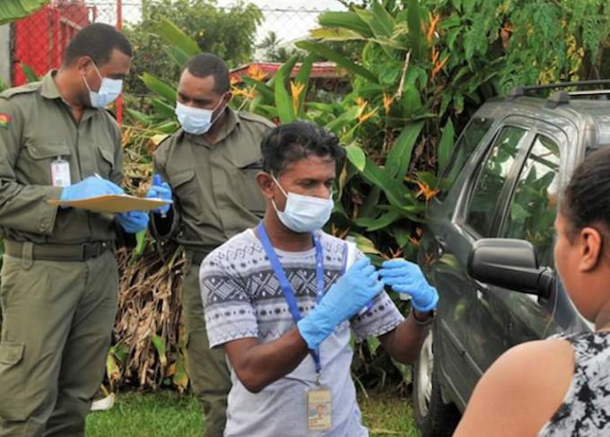 Ongoing health checks in Fiji