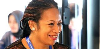 Fiji lawyer Ana Tuiketei Bolabiu