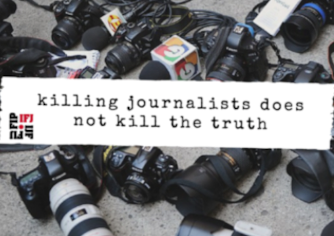 Killing journalists does not kill the truth