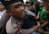 Indonesian police brutally break up a Jayapura rally