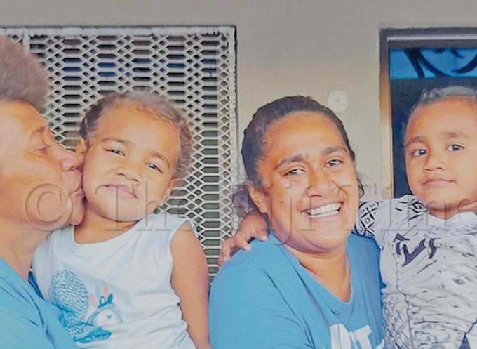 Fiji sevens captain Jerry Tuwai's family