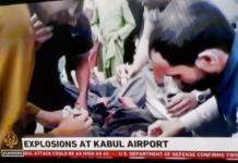 Kabul airport bomb blasts