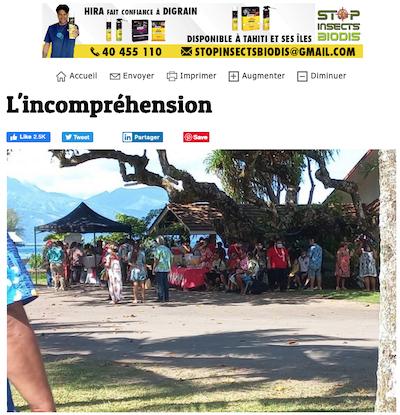 Tahiti wedding headline
