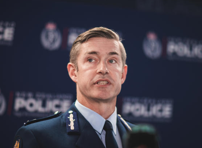 NZ Police Commissioner Andrew Coster