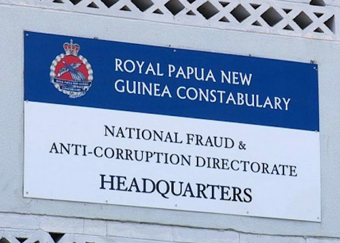 PNG's Anti-Corruption police HQ