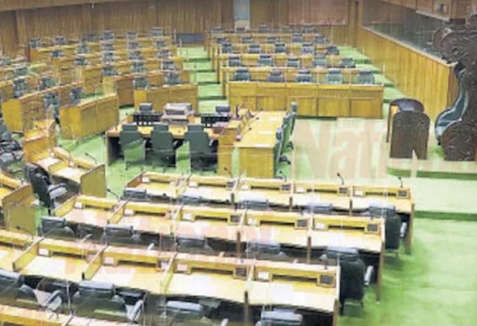 Papua New Guinea's empty Parliament