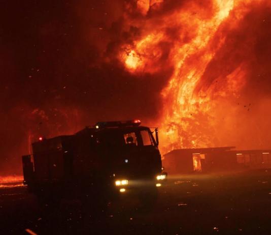 Australian risk of bushfires