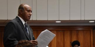 Opposition SODELPA MP Ro Filipe Tuisawau