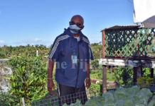 Former Fiji prime minister Sitiveni Rabuka