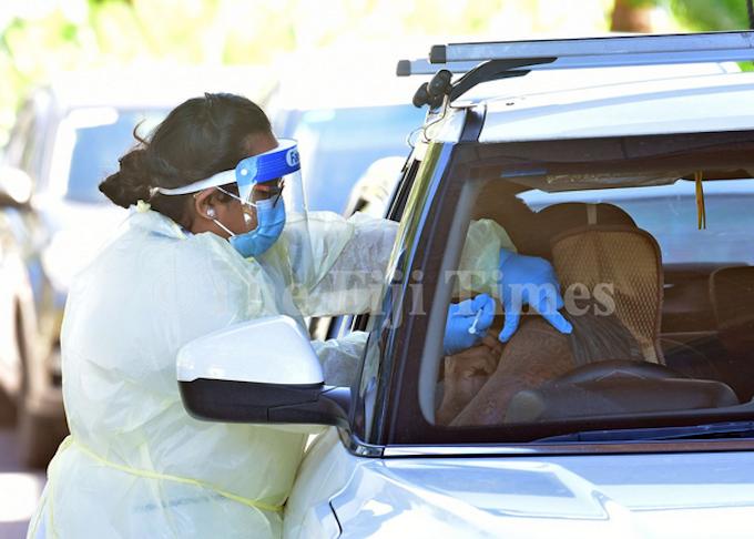 Fiji staff nurse Komal Nand