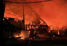 Tappoos warehouse fire, Fiji 010821